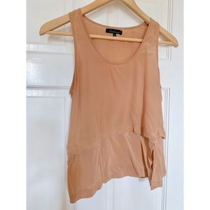Need Supply Blush Silk Tank Top